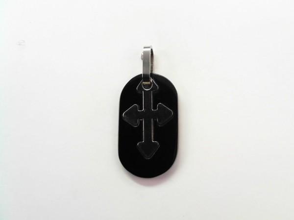 Anhänger-Kreuz Stahl