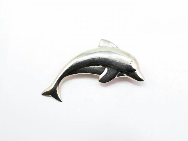 Brosche Delfin 925 Ag