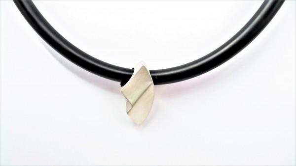 Collier ohne Stein 925 Ag rhodiniert