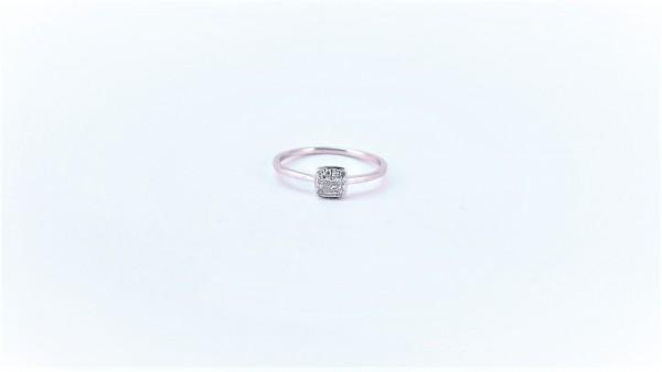 Damenring Mehrsteiner Antragsring 585 WG