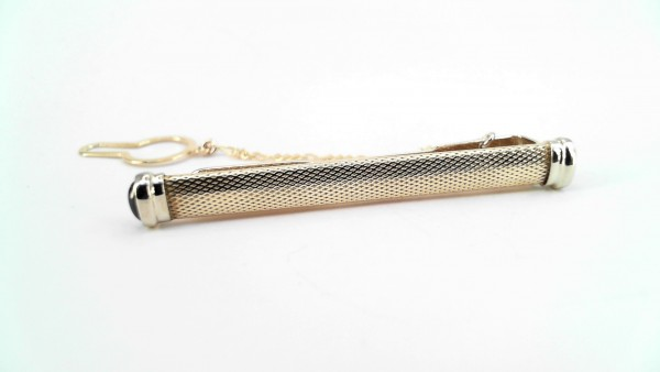 Krawattenschmuck 585 GG