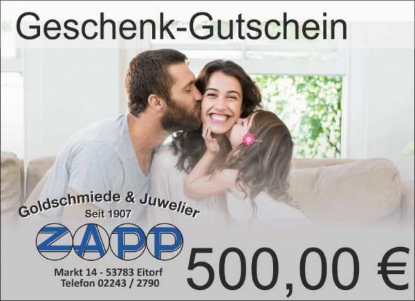 Geschenkgutschein 500 €
