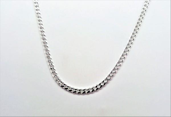 Collierkette 925 Ag rhodiniert