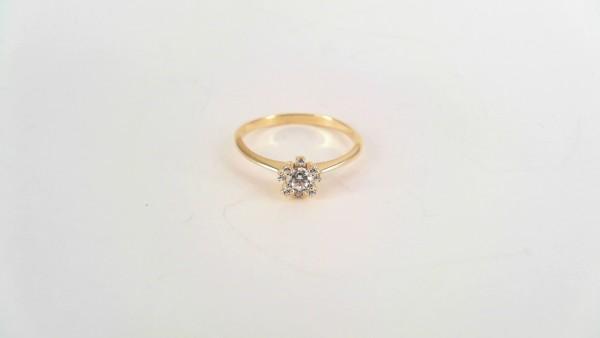 Damenring Mehrsteiner 585 GG