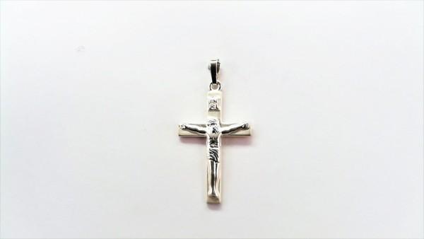 Kreuz 925 Ag rhodiniert