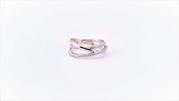 Damenring Mehrsteiner 375 WG