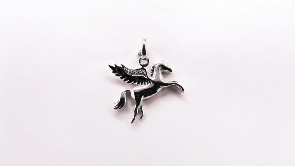 Kinderanhänger Pegasus 925 Ag rhodiniert