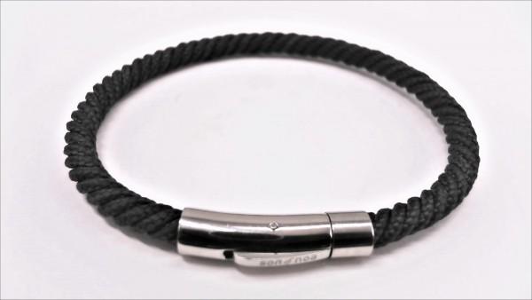 Herrenarmband Seiltampenarmband Stahl