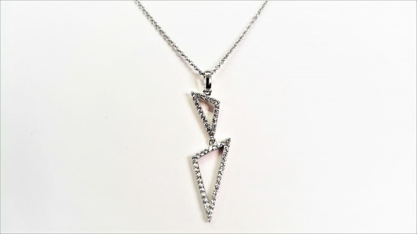 Collier mit Behang 925 Ag