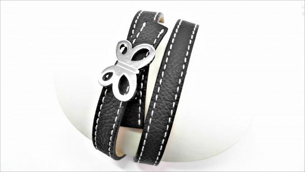 Armband Schmetterling Stahl